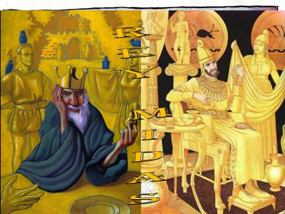Una historia contaba cómo el rey Midas se dio cuenta que tenía los valores equivocados.