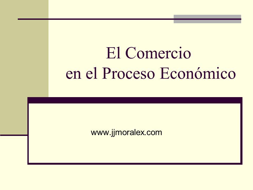 El Comercio en el Proceso Económico www.jjmoralex.com