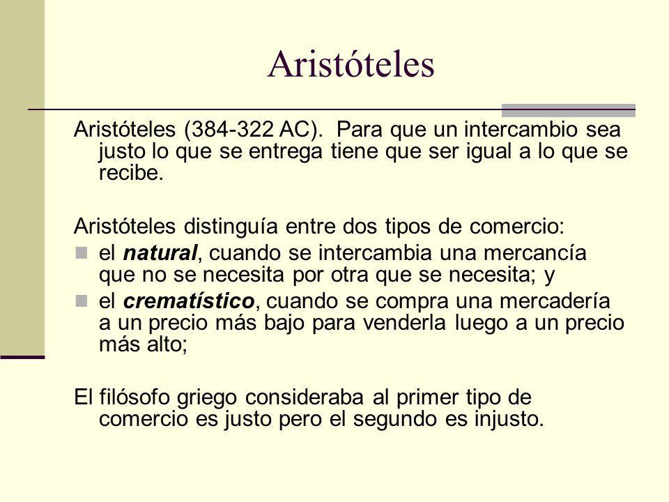Aristóteles Aristóteles (384-322 AC).