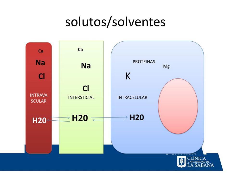 solutos/solventes