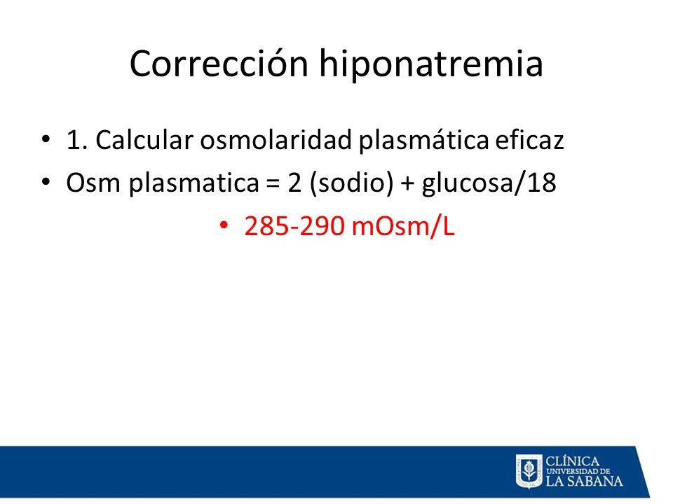 Corrección hiponatremia 1.