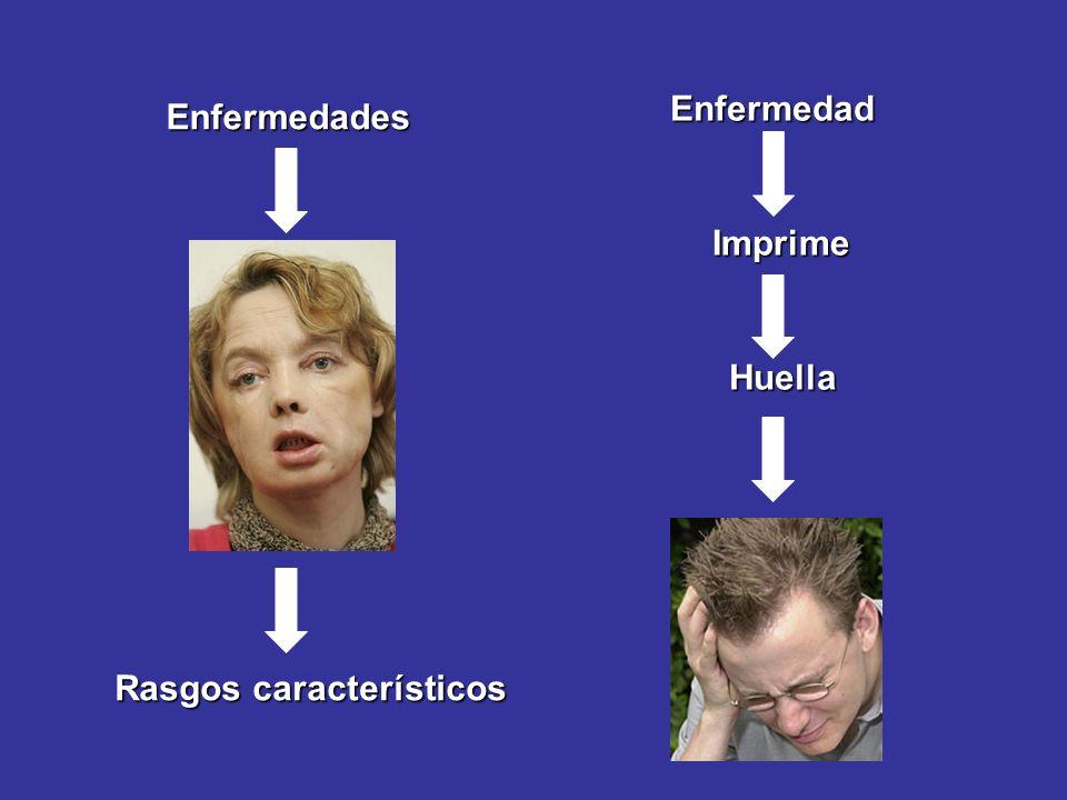 Enfermedades Rasgos característicos Enfermedad Imprime Huella