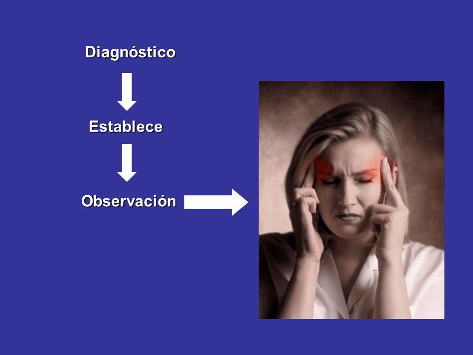 Diagnóstico Establece Observación
