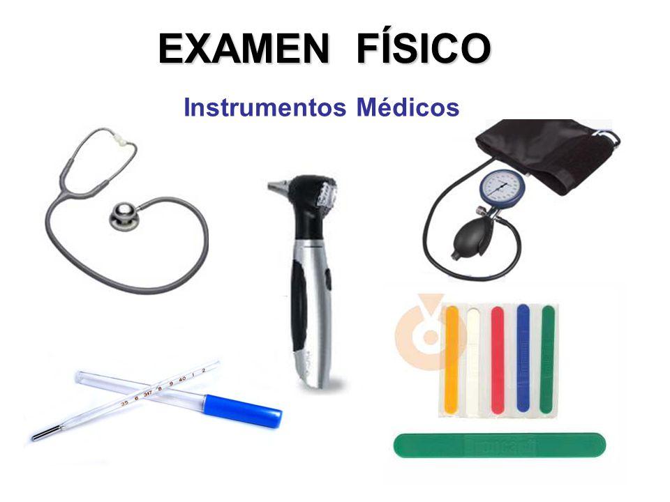 EXAMEN FÍSICO Instrumentos Médicos