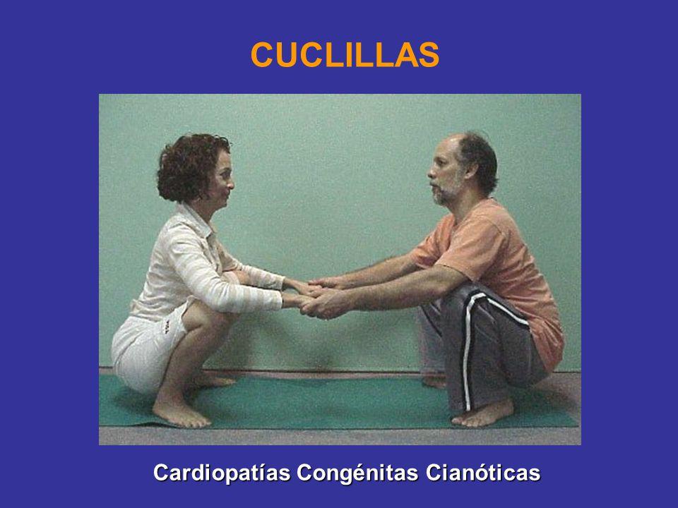 CUCLILLAS Cardiopatías Congénitas Cianóticas