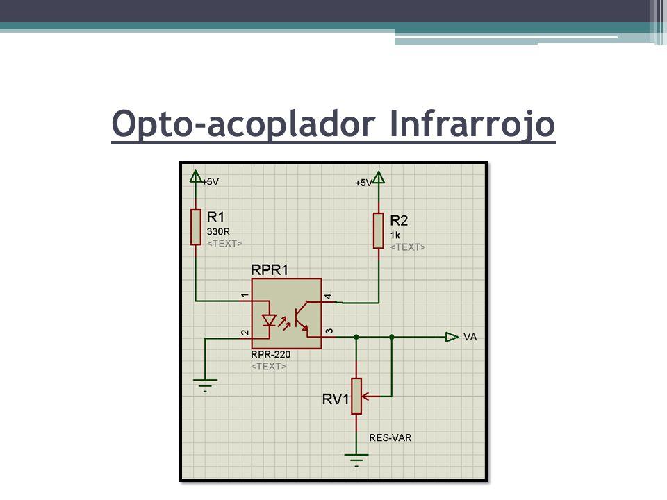 Opto-acoplador Infrarrojo