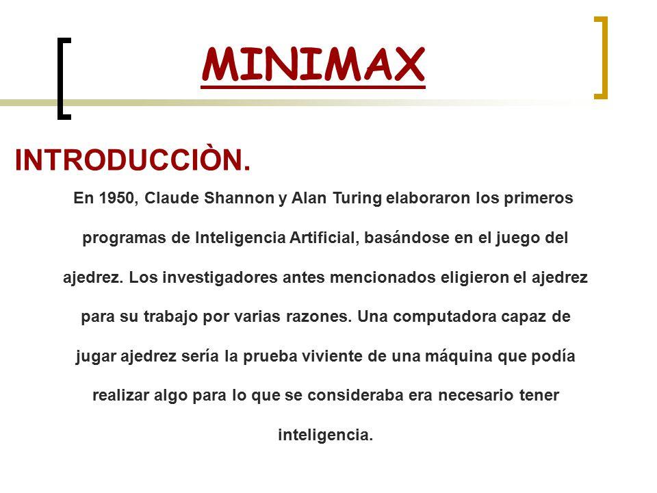 MINIMAX INTRODUCCIÒN.