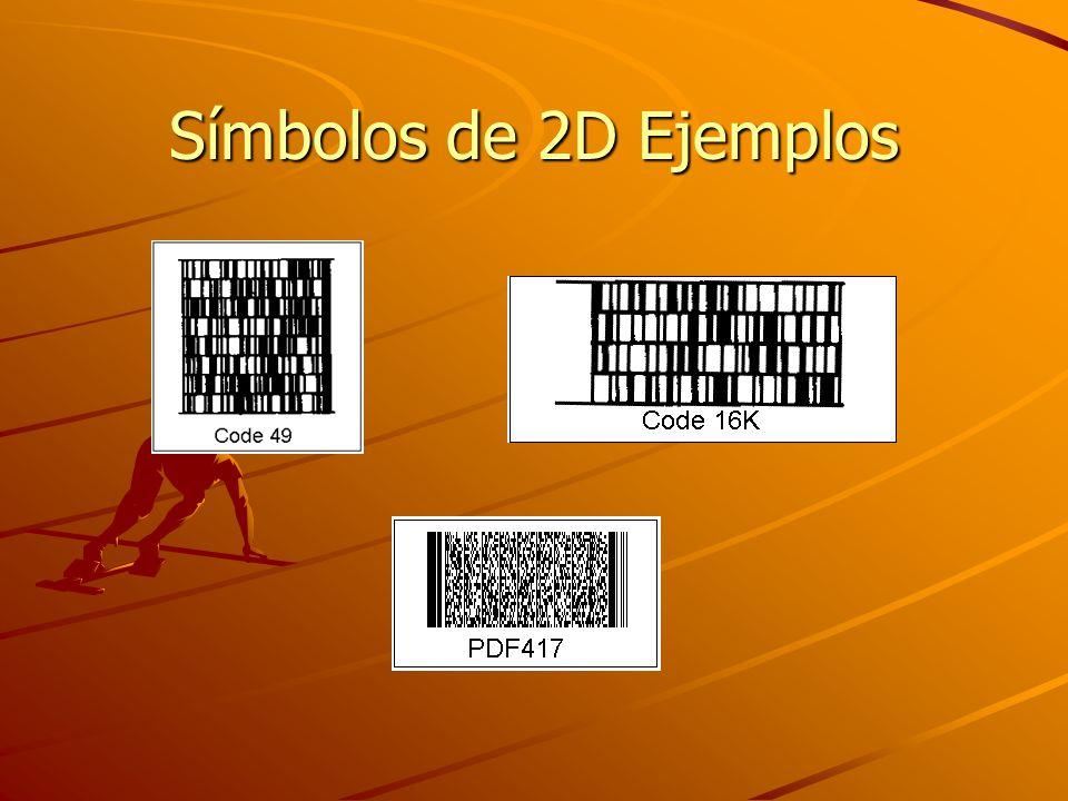 Símbolos de 2D Ejemplos