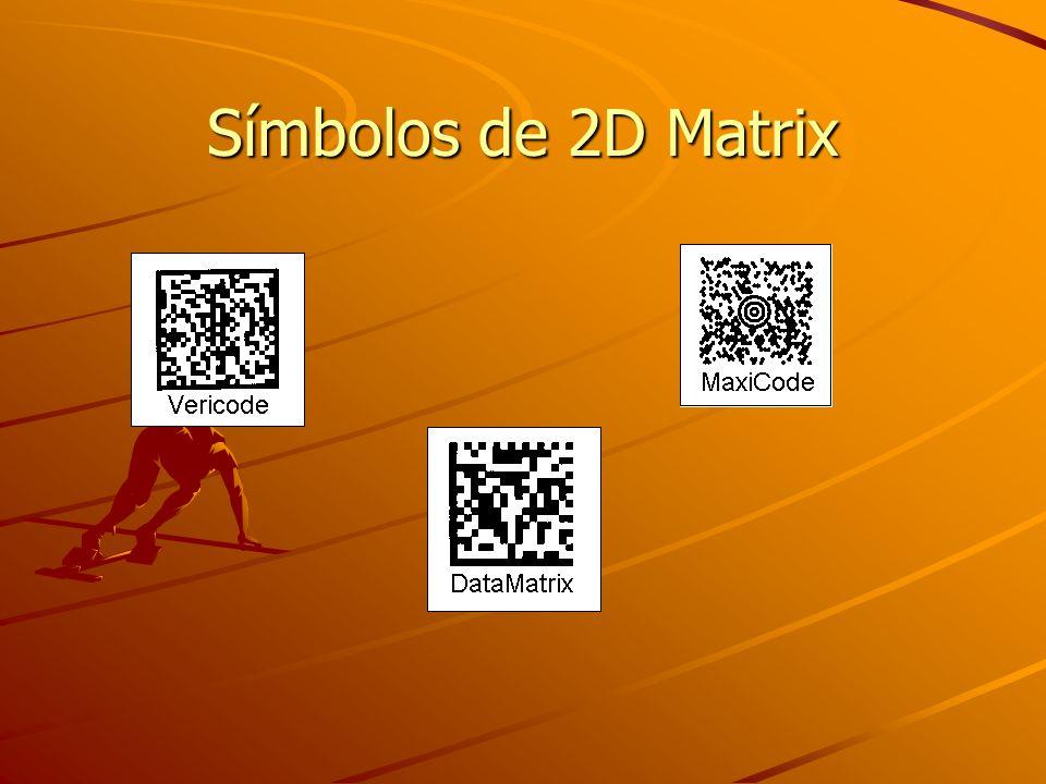 Símbolos de 2D Matrix