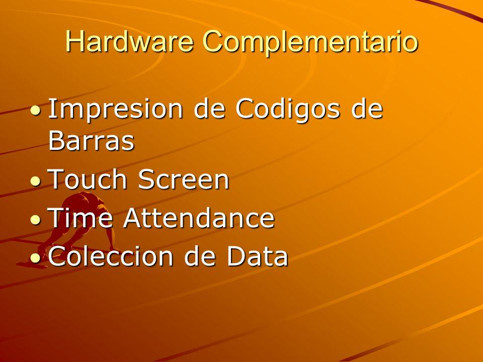 Hardware Complementario Impresion de Codigos de Barras Touch Screen Time Attendance Coleccion de Data