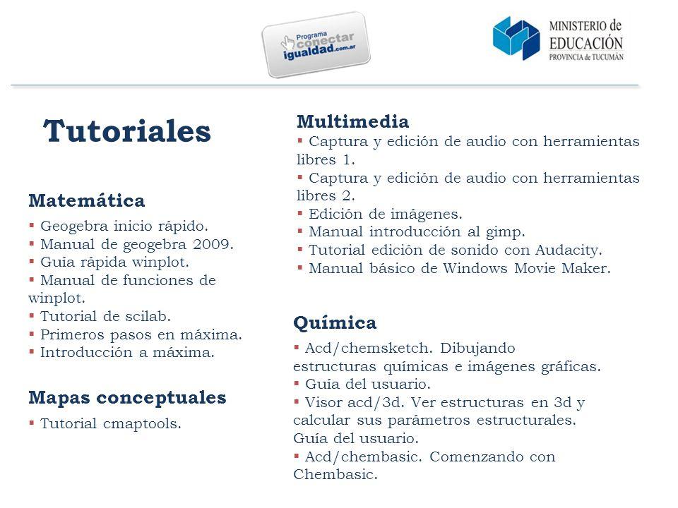 Tutoriales Matemática  Geogebra inicio rápido.  Manual de geogebra 2009.