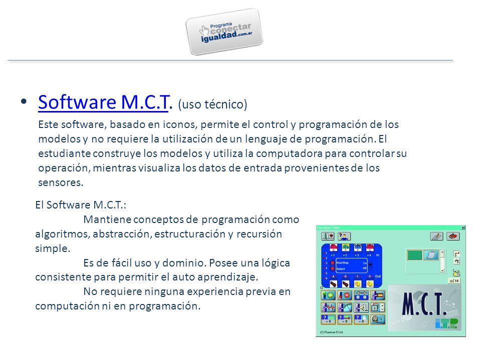 Software M.C.T.