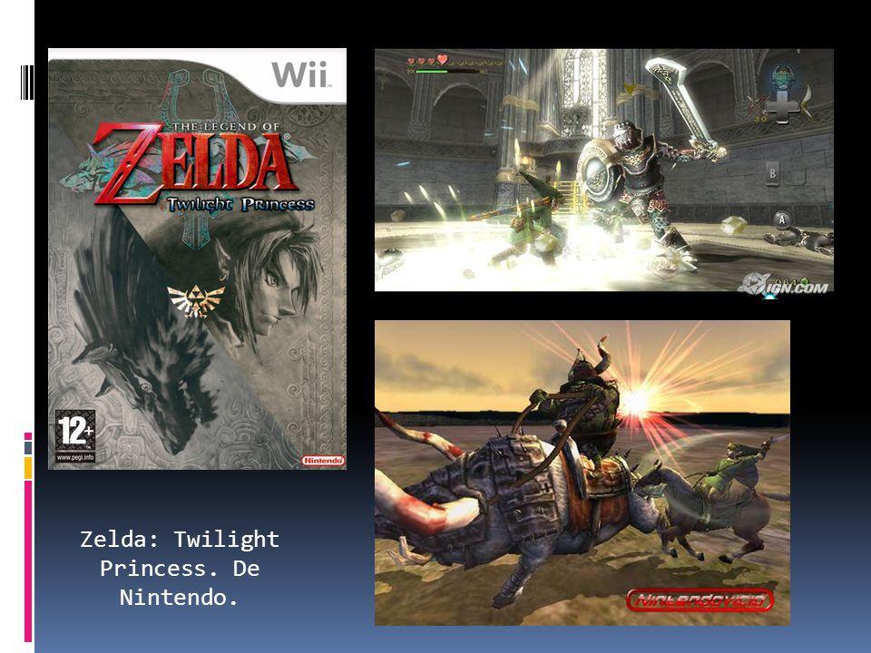 Zelda: Twilight Princess. De Nintendo.