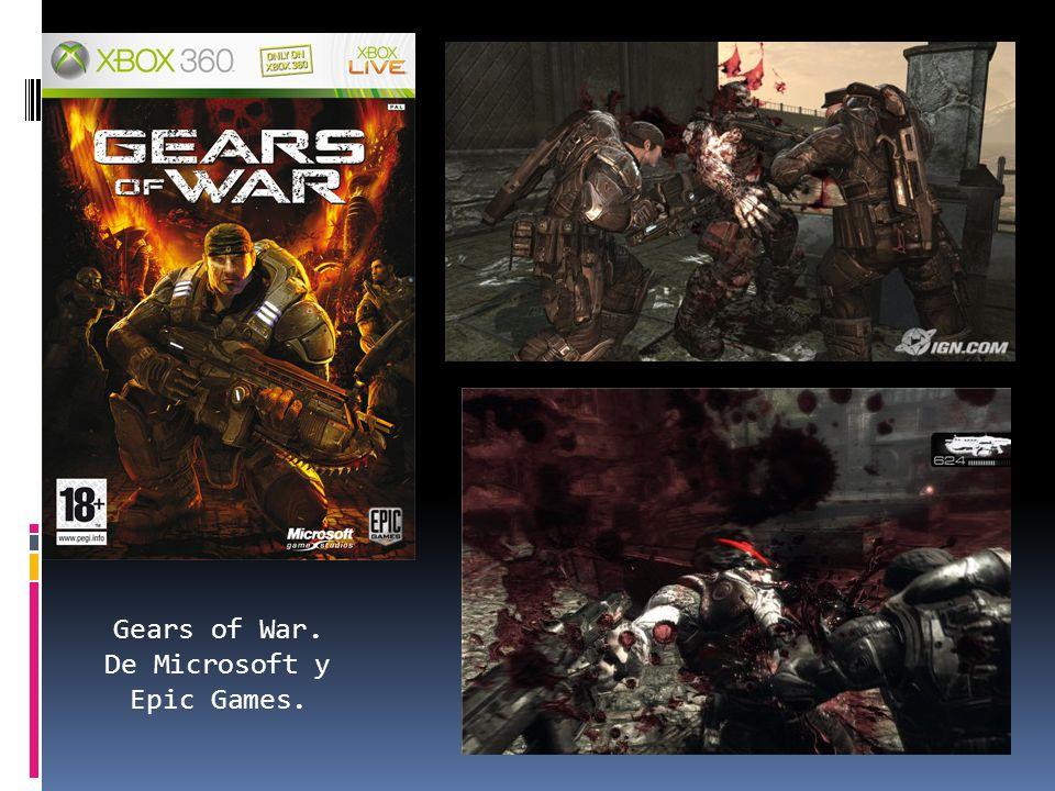 Gears of War. De Microsoft y Epic Games.