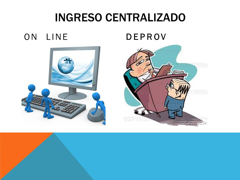 INGRESO CENTRALIZADO ON LINEDEPROV