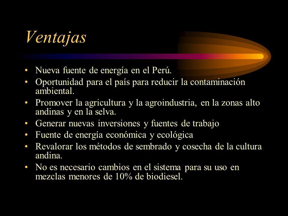 Ventajas Nueva fuente de energía en el Perú.