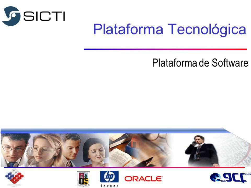 Plataforma Tecnológica Plataforma de Software