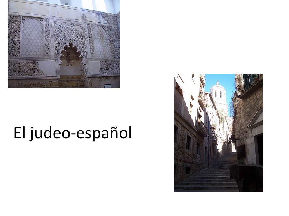 El judeo-español