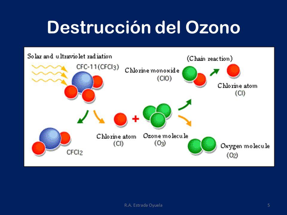 R.A. Estrada Oyuela5 Destrucción del Ozono