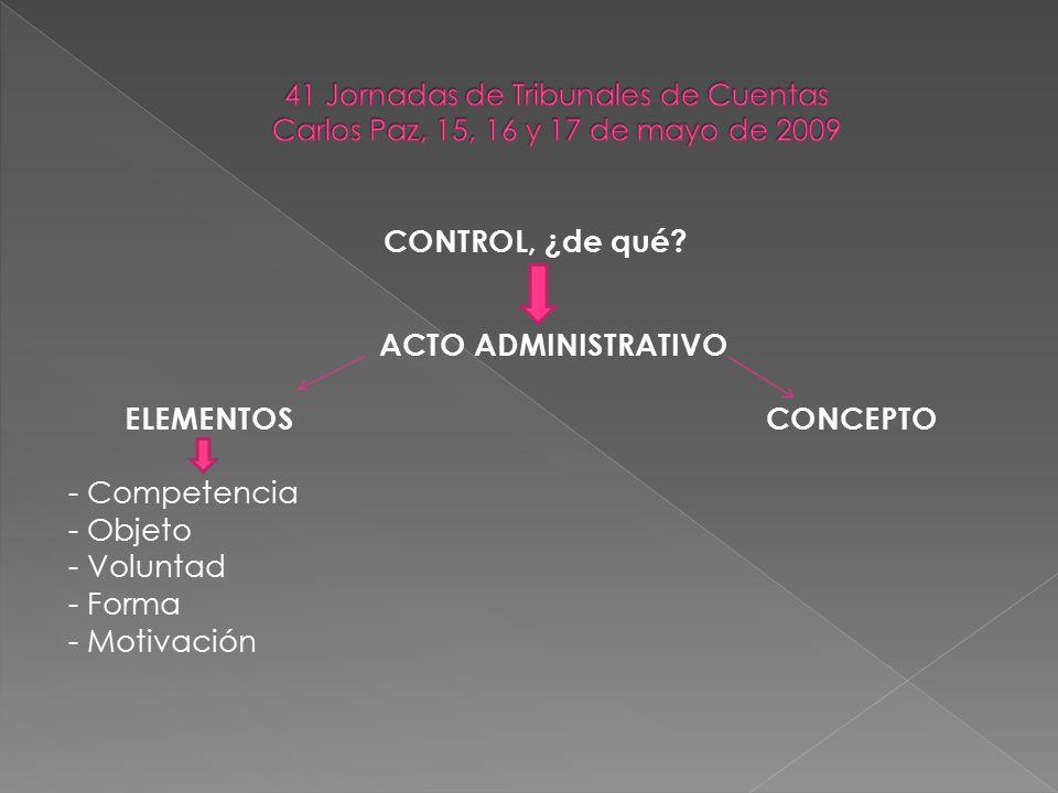 OPORTUNIDAD DEL CONTROL 1) actos de control preventivo , inc.