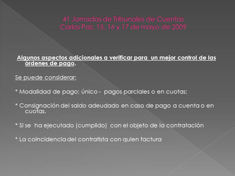 Criterios legales y prácticos para el control posterior del gasto (Art.