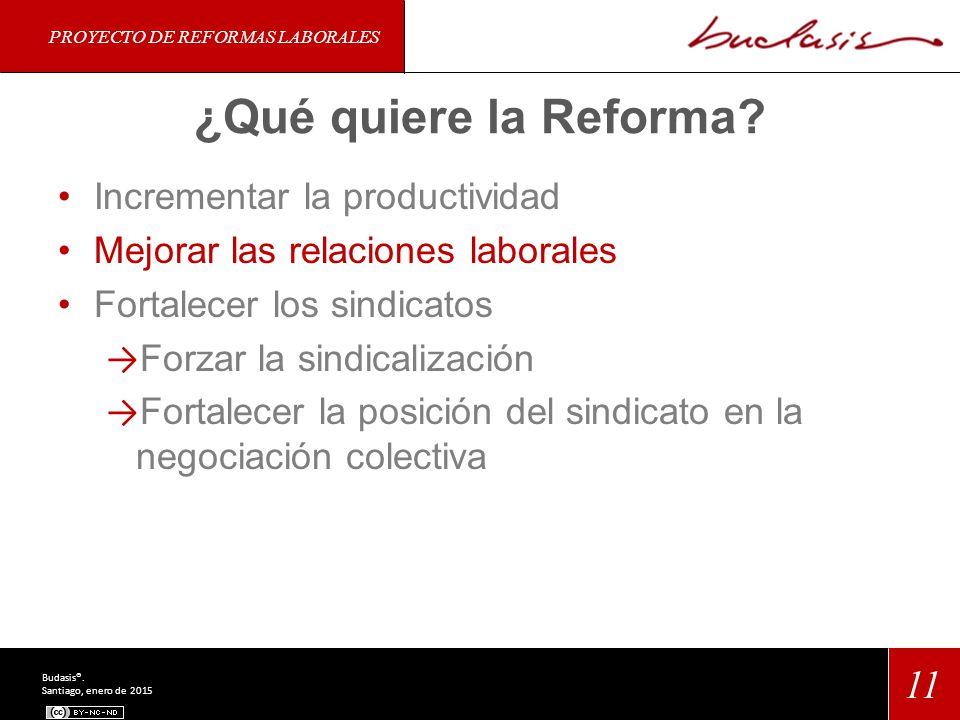 ¿Qué quiere la Reforma.