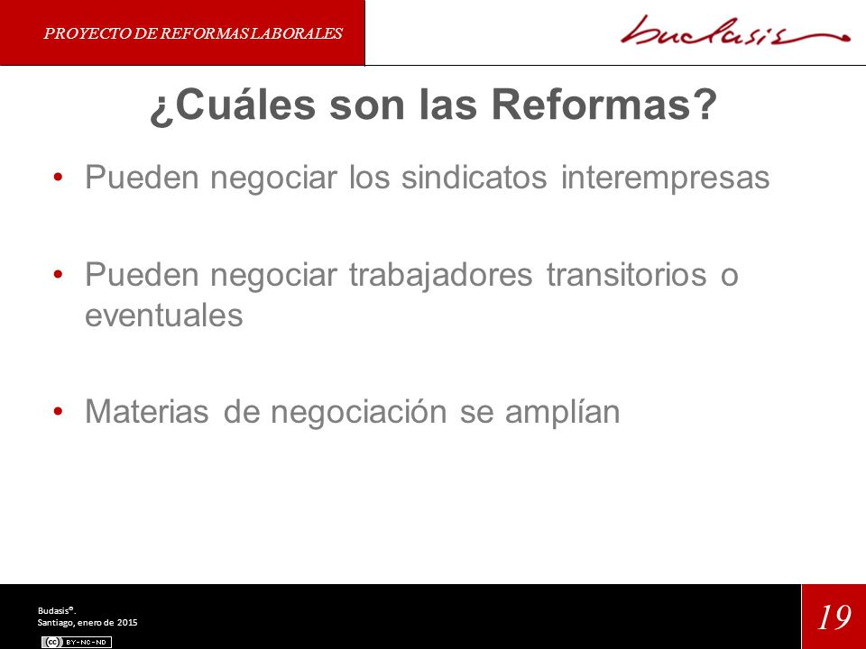 ¿Cuáles son las Reformas.