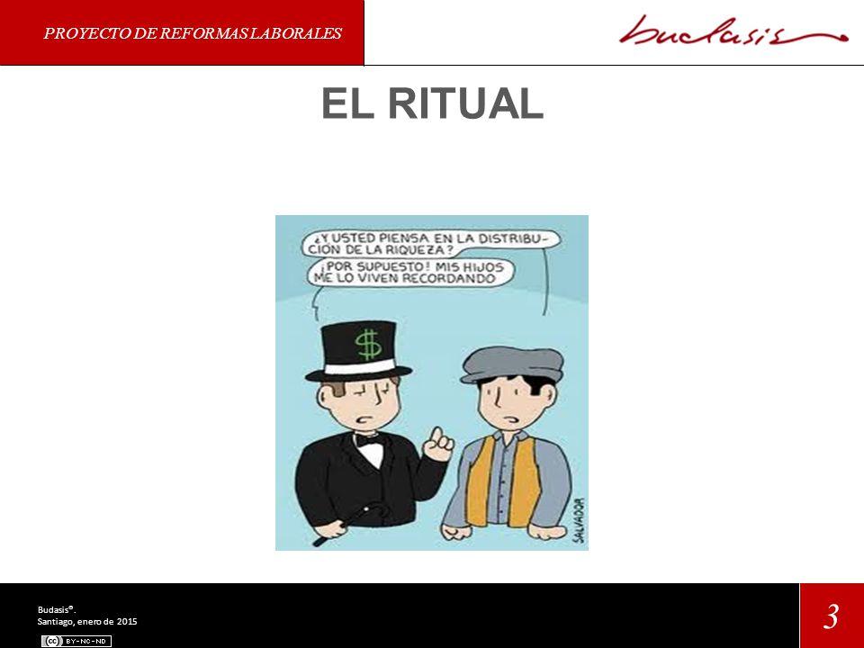 PROYECTO DE REFORMAS LABORALES 3 Budasis®. Santiago, enero de 2015 EL RITUAL