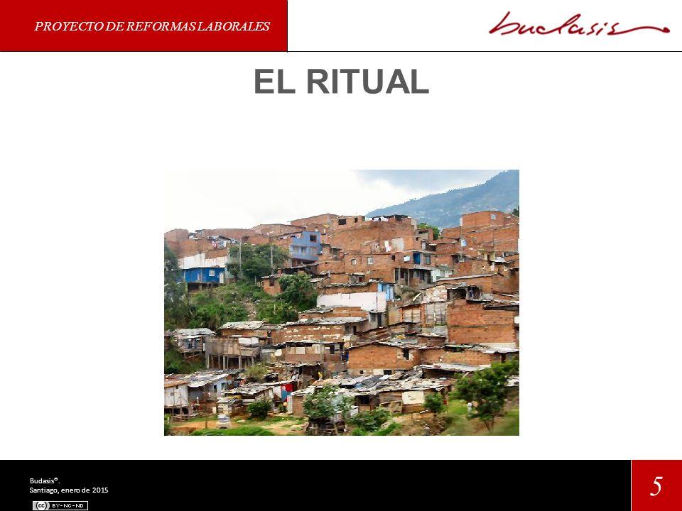 PROYECTO DE REFORMAS LABORALES 5 Budasis®. Santiago, enero de 2015 EL RITUAL
