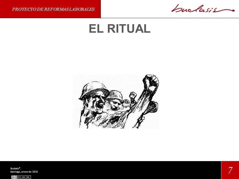 PROYECTO DE REFORMAS LABORALES 7 Budasis®. Santiago, enero de 2015 EL RITUAL
