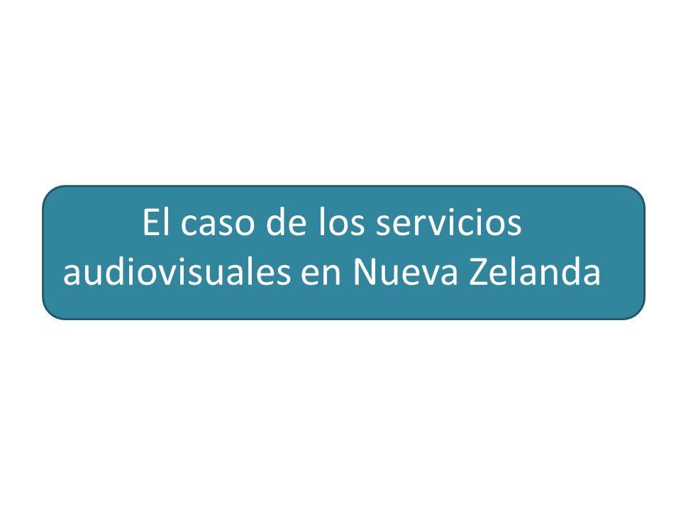 El caso de los servicios audiovisuales en Nueva Zelanda