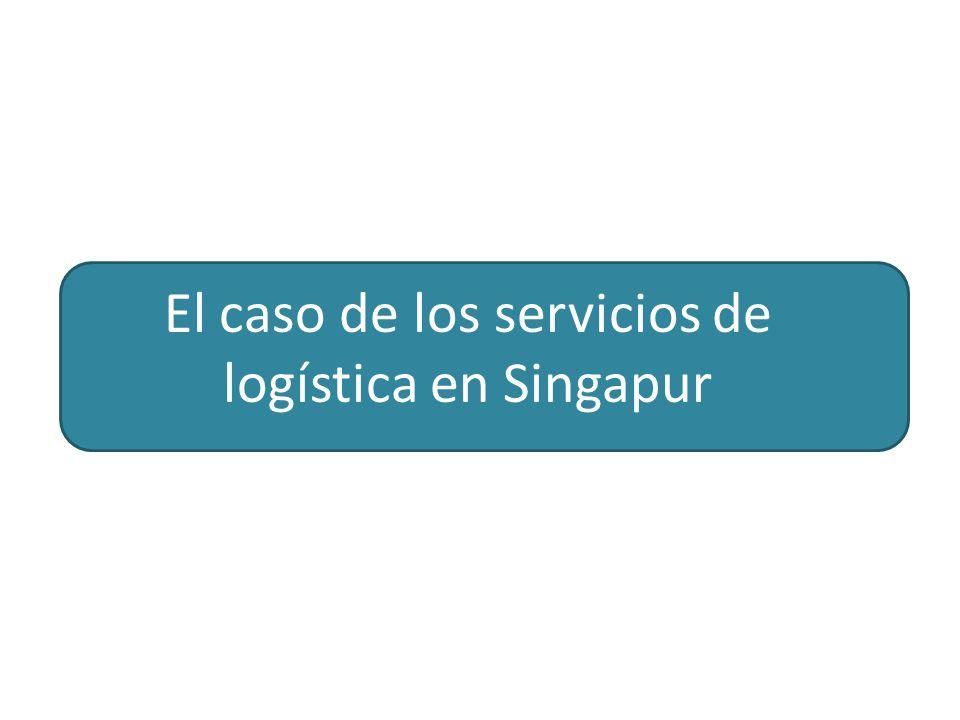 El caso de los servicios de logística en Singapur