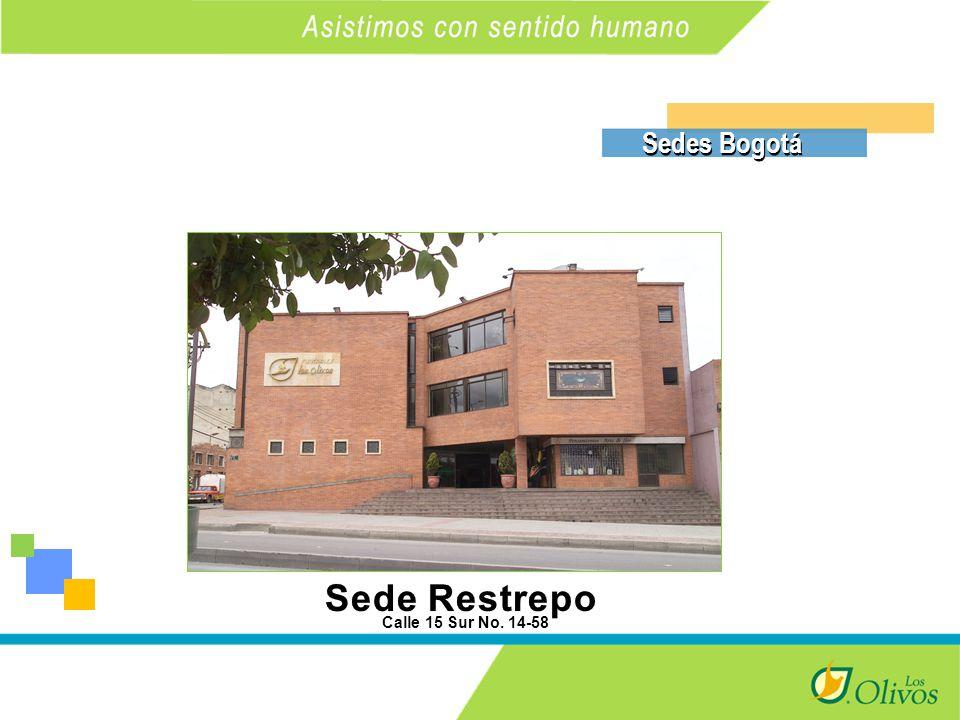 K Sedes Bogotá Calle 15 Sur No. 14-58