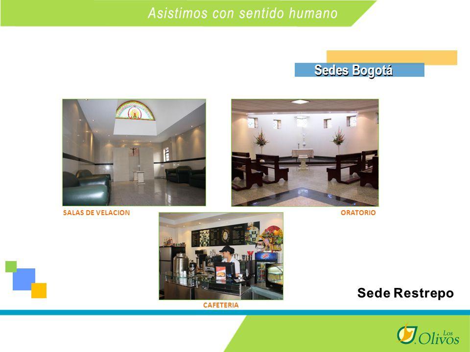 K SALAS DE VELACIONORATORIO CAFETERIA Sedes Bogotá