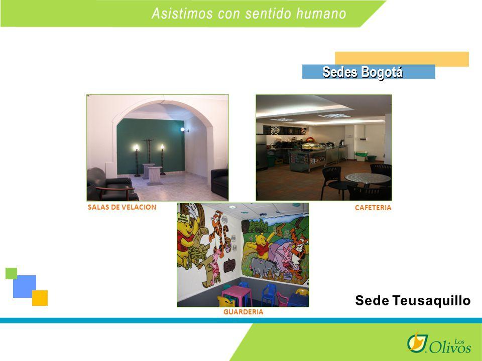 K SALAS DE VELACION CAFETERIA GUARDERIA Sedes Bogotá