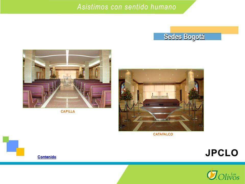 K Sedes Bogotá CAPILLA CATAFALCO Contenido