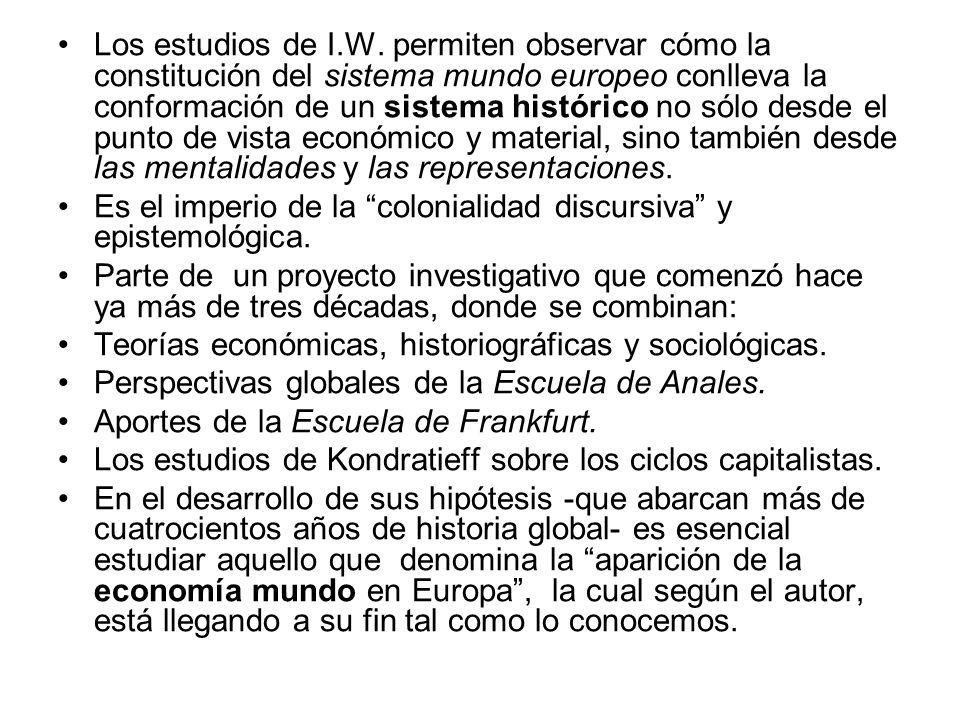 Los estudios de I.W.