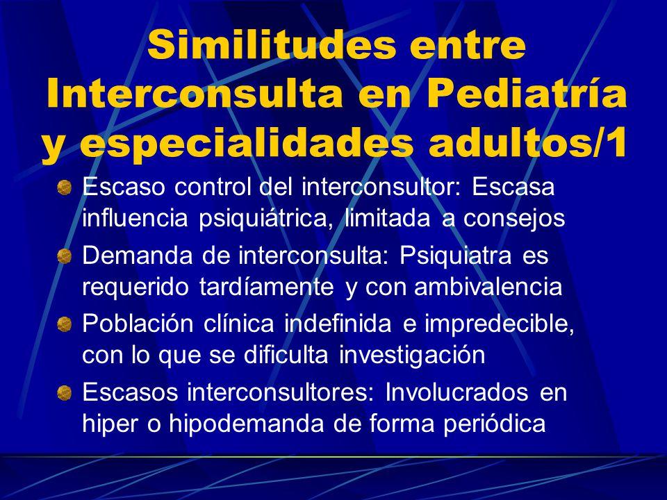 Perfiles de trabajo entre niveles asistenciales/2 Interconsulta y enlace: Desplazamiento de SMI-A a la A1ª pediátrica con los siguientes contenidos: Atender niñ@s y sus familias(p.e.