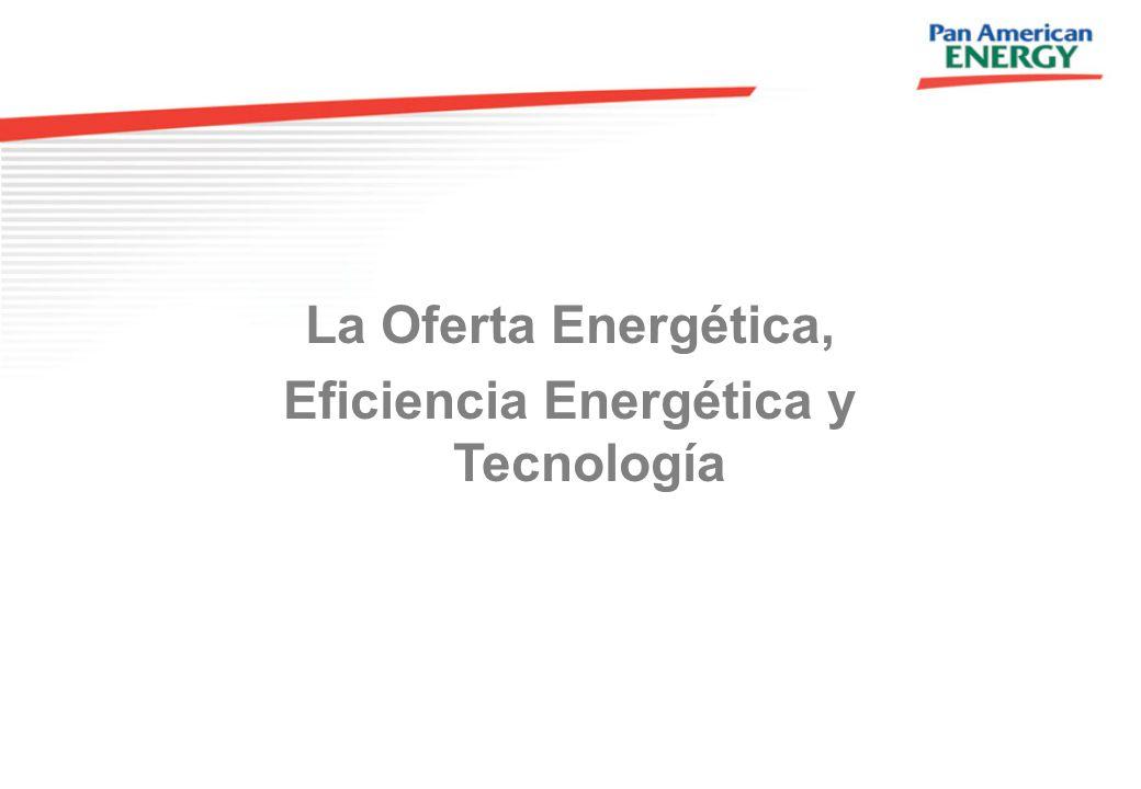 La Oferta Energética, Eficiencia Energética y Tecnología