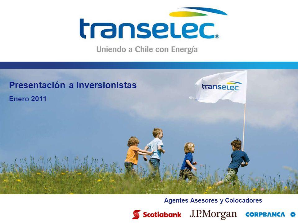 Presentación a Inversionistas Enero 2011 Agentes Asesores y Colocadores
