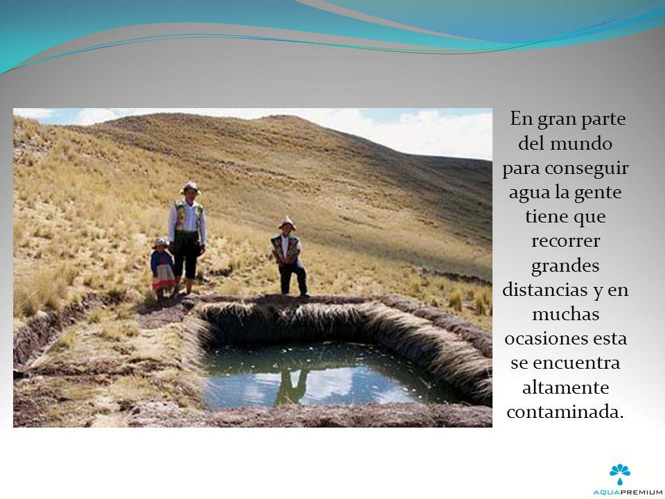 Las reservas mundiales de agua potable no están distribuidas equitativamente, mientras unos países tienen abundante agua dulce, otros mueren de sed.
