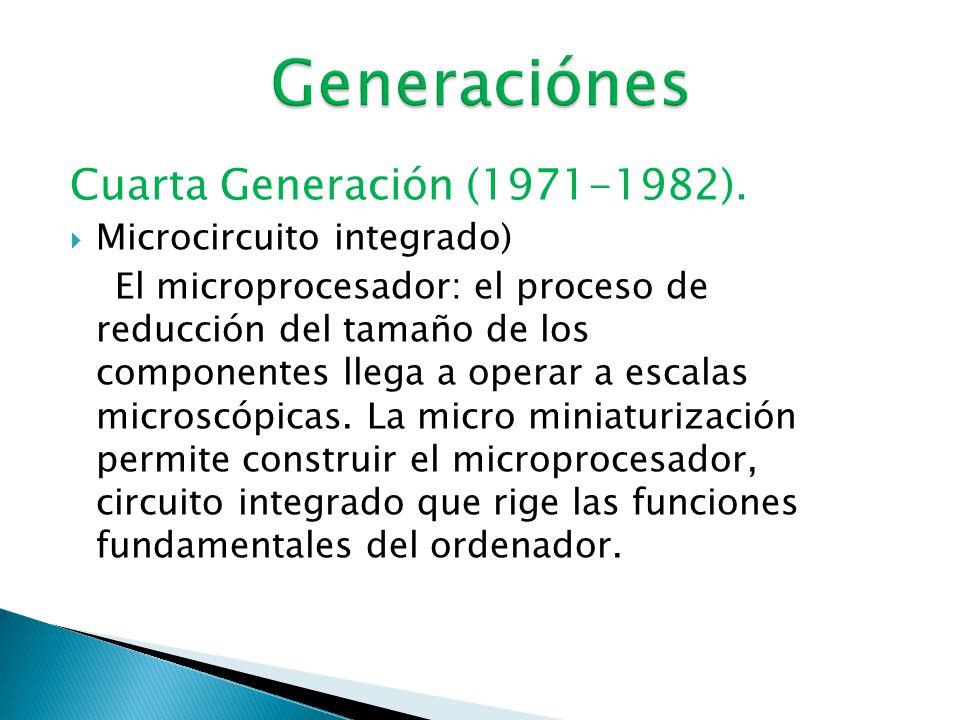  Tercera Generación (1964 - 1971).