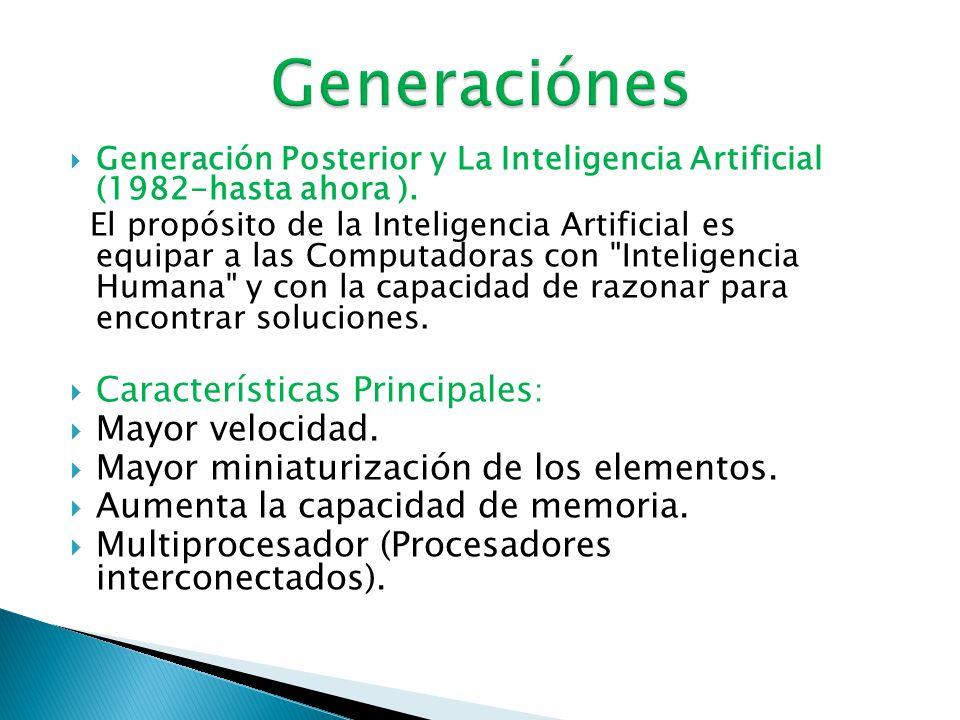 Cuarta Generación (1971-1982).