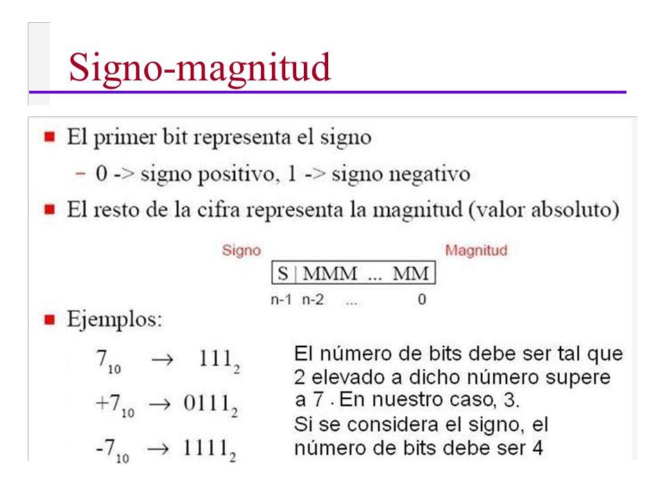 Signo-magnitud