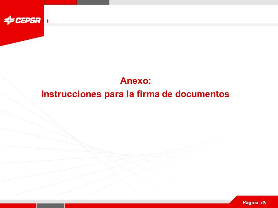 Pagina 1 de 3 Página 6 Anexo: Instrucciones para la firma de documentos