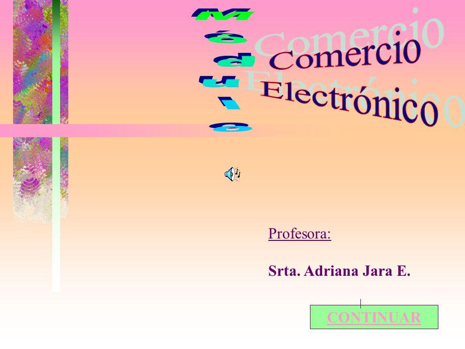 Profesora: Srta. Adriana Jara E. CONTINUAR