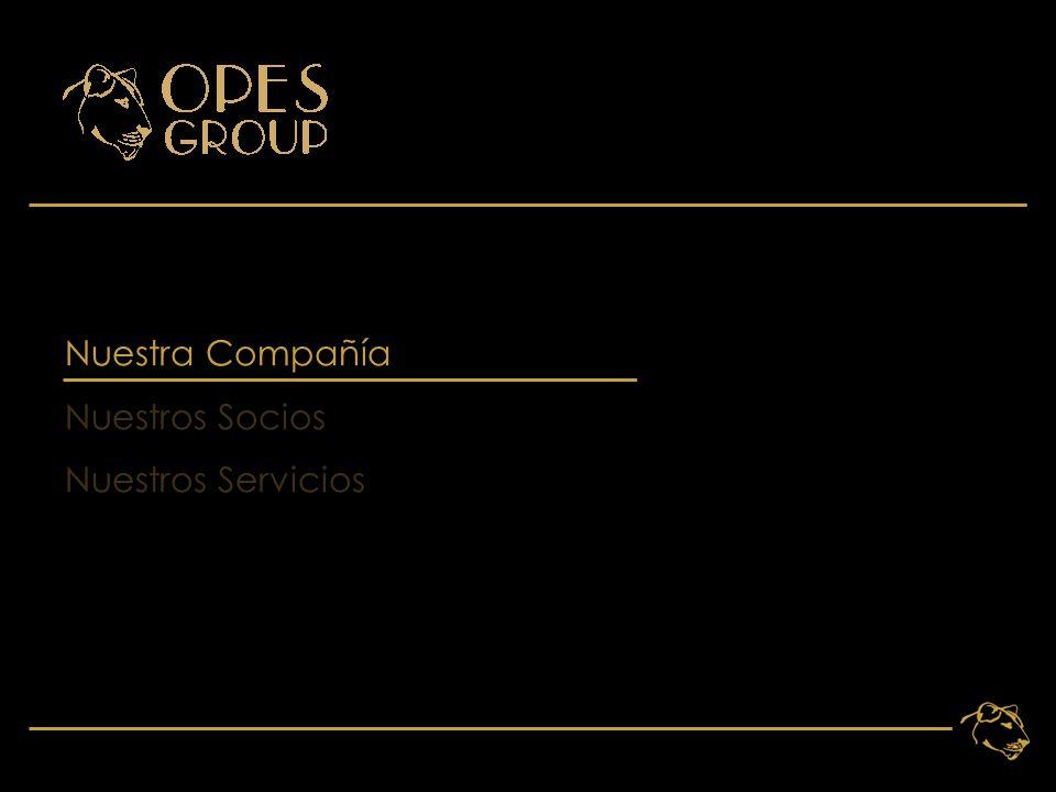 3 Nuestra Compañía Nuestros Socios Nuestros Servicios