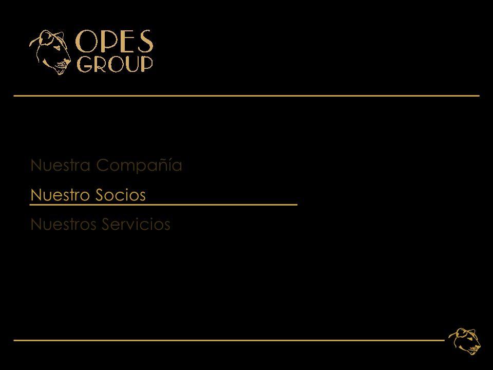 8 Nuestra Compañía Nuestro Socios Nuestros Servicios