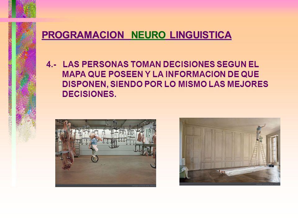 PROGRAMACION NEURO LINGUISTICA 3.- TODO COMPORTAMIENTO TIENE UNA INTENCION POSITIVA Y ADAPTATIVA PARA QUIEN LO EJERCE, ES PRODUCTO DEL MODELO Y LA MANTENCION DEL EQUILIBRIO DE SUS COMPONENTES.