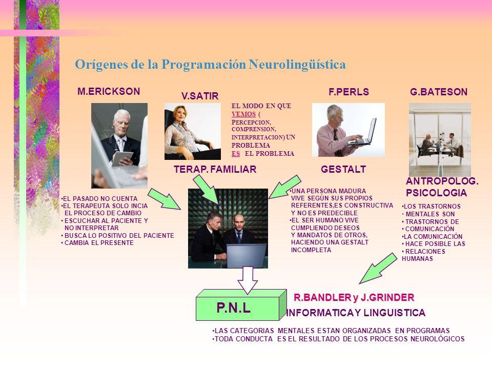CAPITULOS 1.Definiciones 2.Los Paradigmas 3.Canales de Comunicación 4.Presuposiciones 5.Estrategias Primarias de Conducta 6.Patrones Neuronales del Cerebro 7.Restricciones en nuestras Representaciones del Mundo 8.Tendencias Motivacionales 9.Excelencia en la Comunicación 10.Desarrollo de Estrategias de Logro 11.Estrategia de Liderazgo